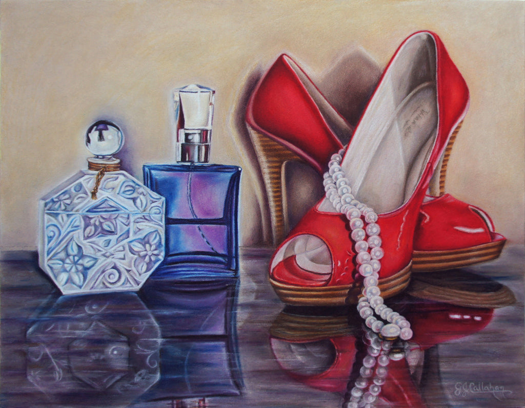 Gloria J. Callahan Title: A Red Shoe Evening