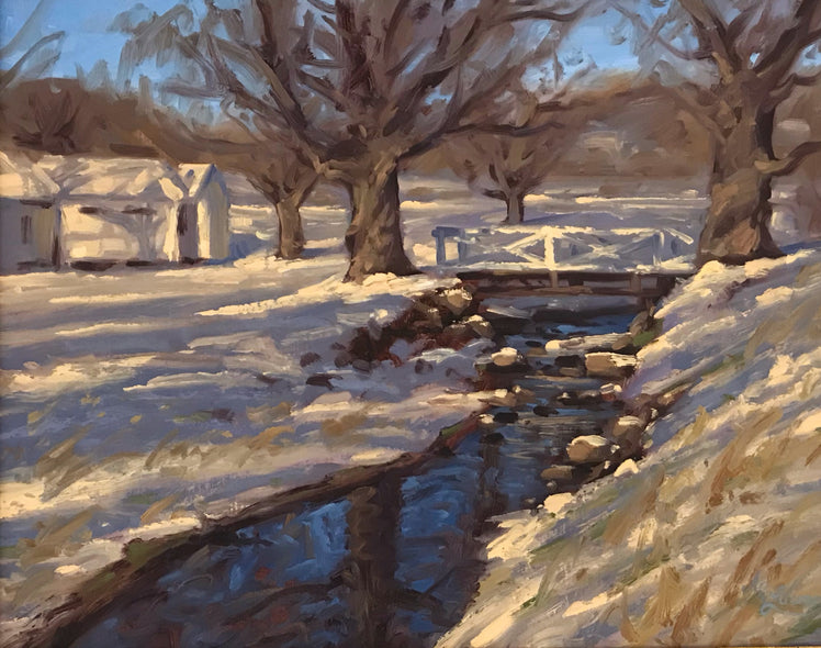 André Lucero Title: Winter at The Jefferson Pools