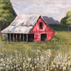 Andrea Amacker Title: Red Barn