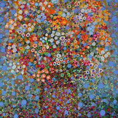 Angelo Franco Title: Abstract Bouquet Lace