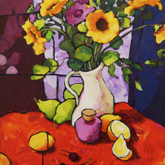 Angus Wilson Title: Post Impressionistic Still Life