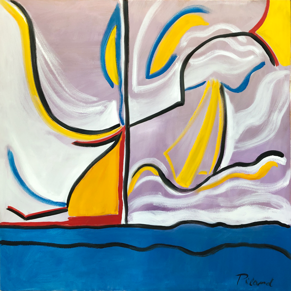 Anne Piland Title: Sailboats