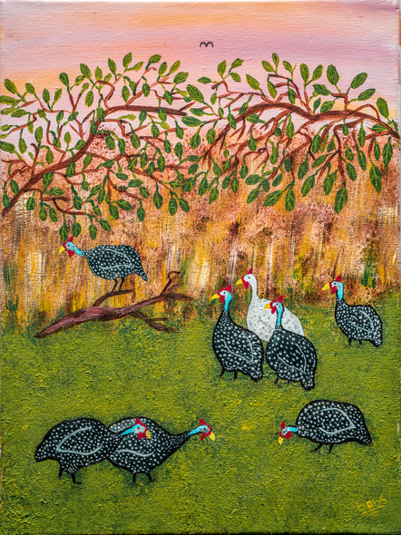 Babs Mohammed Title: Guinea Fowl
