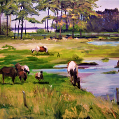 Barbara Byrd Title: Spring Pasture ll