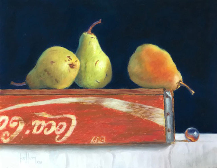 Betsy M. Kellum Title: Bartlett Pears on Crate