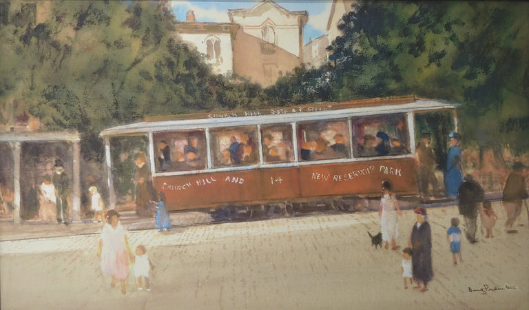 Bev Perdue Title: Richmond Street Car