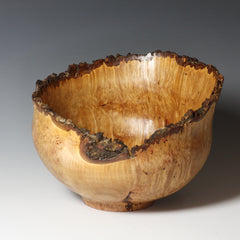 Barbara Dill  Title:Big Leaf Maple Burl Vessel