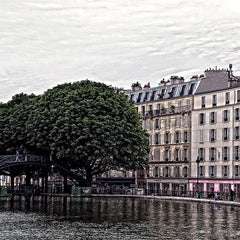 Bill Gilmore Title: Paris-City of Light: St. Martin's Canal