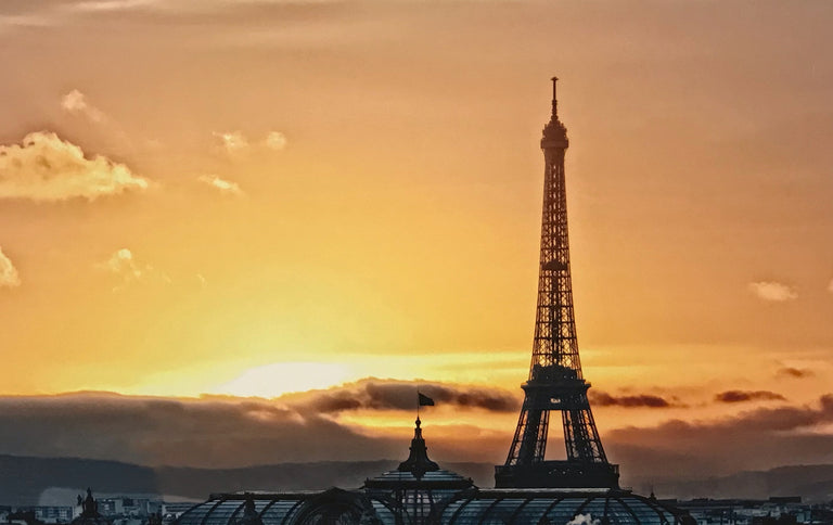 Bill Gilmore Title: Eiffel Tower at Sunset