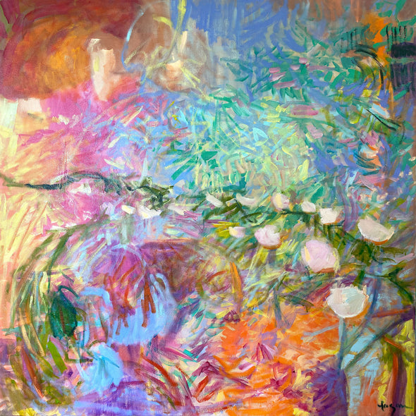 Fagan, Dorothy Title: Blooming Moonflower Dream