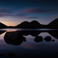 Franta, Darron Title: Blue Hour on Jordan Pond