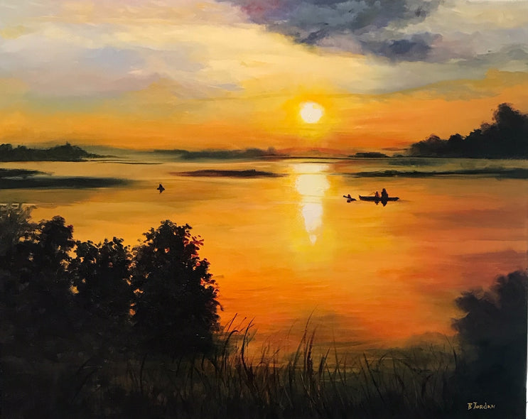 Bonnie Jordan Title:Morning Glow