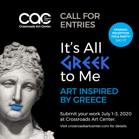 "Call for Entries ""It's All Greek to Me"""