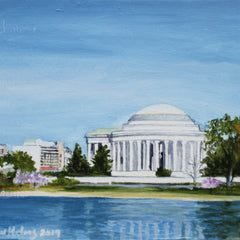 Clinton Helms  TItle:Jefferson Memorial on the Mall