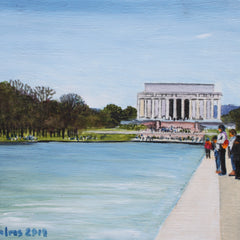 Clinton Helms  Title:Lincoln Memorial on the Mall
