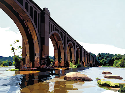 Morgan E. McKinney Title: CSX A-Line Bridge, Richmond