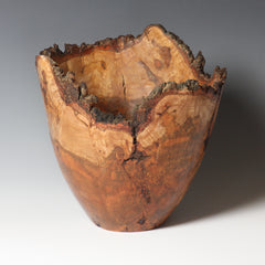 Barbara Dill  TItle:Cherry Burl Vessel