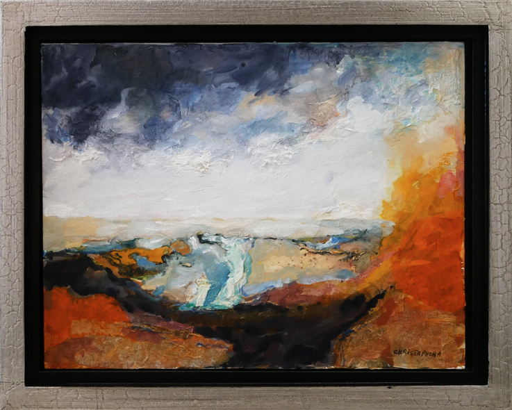 Christaphora Robeers Title: Land of Fire and Ice