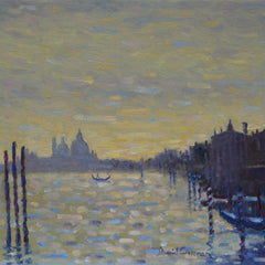 David Cressman Title: Towards Salute, Venice #025