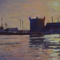 David Cressman Title: Sunset over Essaouira Forte #057