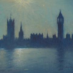 David Cressman Title: House of Parliament Sunlight #063