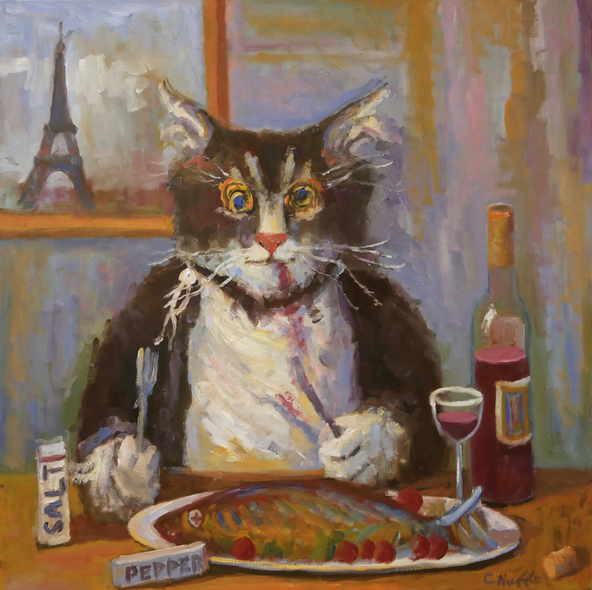 Curney Nuffer Title: Poisson Chat (Cat Fish)
