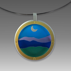 Dana Masters Title: Blue Ridge Necklace