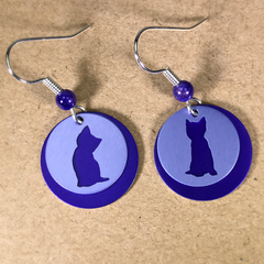Dana Masters Title: Kitten Earrings