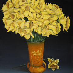 Cheatham, David Title: Jonquils in Vase