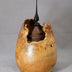 Bushman, David: Maple Burl Lidded Vessel No. 358