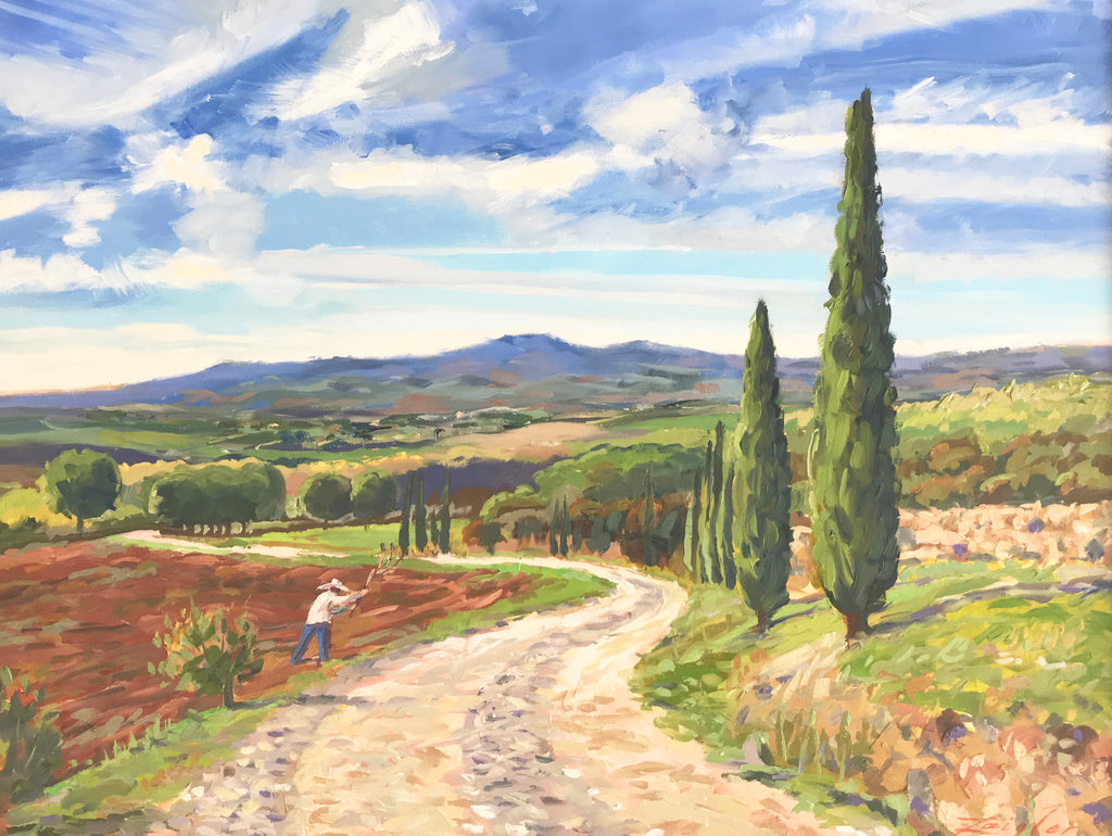 Doug Zeigler Title: Under Tuscan Skies