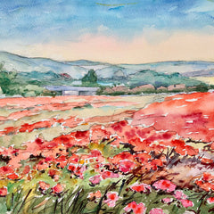 Eleanor Cox Title: Poppy Field II