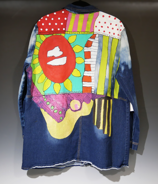 Faithe Norrell Title: Colors & Shapes Jacket