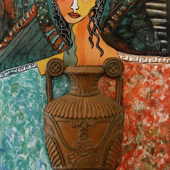 Faithe Norrell Title: Ode to a Grecian Urn
