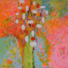 Glenda Shulleeta Title: Blooming Under the Sunset