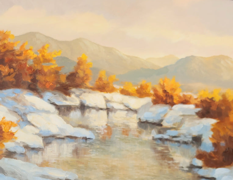 Guy Crittenden Title: Snowy Creek