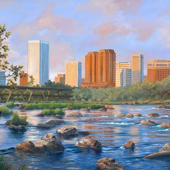 Guy Crittenden Title: Richmond Skyline and James River