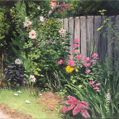 Hollett-Bazouzi, Linda Title: Along the Fence