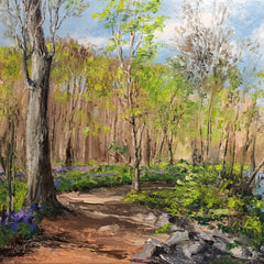 Linda Hollett-Bazouzi Title: Bluebells at Pony Pasture