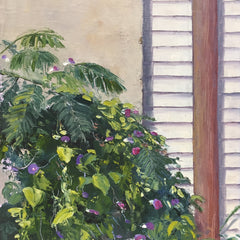 Hollett-Bazouzi, Linda Title: Fan Morning Glories