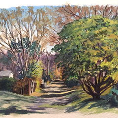 Hollett-Bazouzi, Linda Title: Fulton Alley: Spring