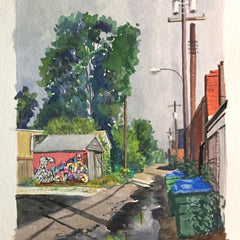 Hollett-Bazouzi, Linda Title: Hamilton's Alley