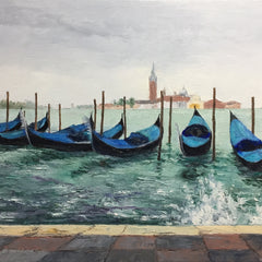 Linda Hollett-Bazouzi Title: Line Up, Venice