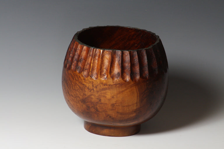 Barbara Dill  Title:Redwood Burl Vessel