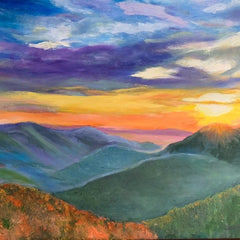 Art for the Journey-  Jacquie Evans  Title:Shenandoah Mountains