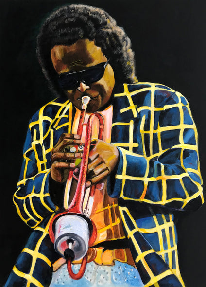 James Bassfield Title: Miles Davis