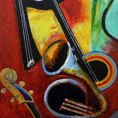 James Bassfield Title: Music Maker II