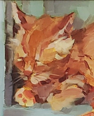 Grunewald, Jean Title: Sleeping Cat