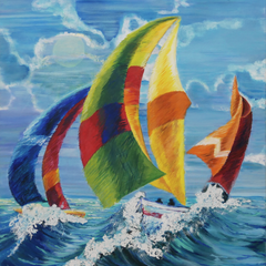 "Juanita ""Jennie"" Wyatt Title: Sail Boats"