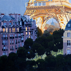 Jim Smither Title: City of Lights, the Eiffel Tower